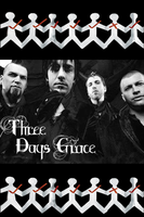 Three Days Grace iPhone Wallpaper by cutielou