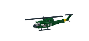 UH-1 Iroquois by Salfaromeab