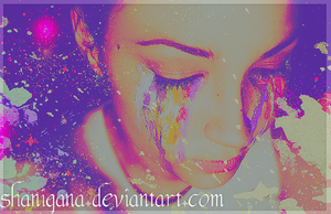 Crying Paint by shanigana