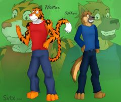 Asthor y Hector by Svtx