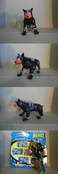 Scary Houndour by TooMuchLego