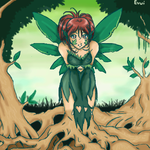 Forest Faerie by evui