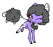 Sheep pillow pony auction. - clossed- by OfficerMittens