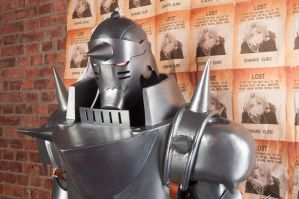 Alphonse Elric cosplay craft by Nitrogen52rus