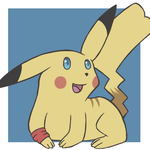 Peaches the Pikachu icon by J3rry1ce