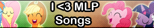 MLP songs -Fan button by SunsetMajka626