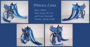 Custom Pony - Princess Luna by Baked-Bads