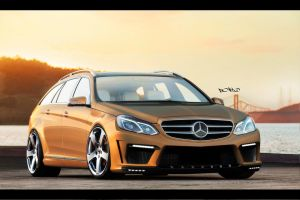 Mercedes E Class Wagon by pont0