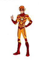Kid Flash Redesign! by Comicbookguy54321
