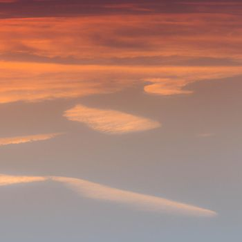 Cloudy splashs of dye, on the canvas of the sky. by paschlewwer