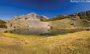 Panorama of Bukumir lake by Grofica