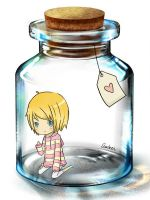 Ari in a Bottle by AmberTheSatyr