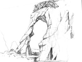 rock formation by ARMORMAN