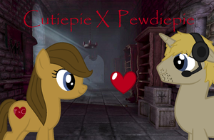 Cutiepie and Pewdiepie ponys by Nuller4444