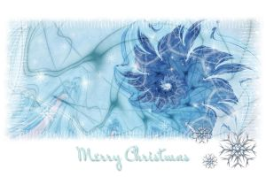 Snow Princess - Christmas Card by Fiery-Fire