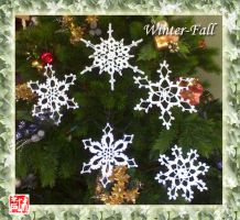 Snowflakes Col. 2 by winter-fall