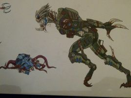 Turian and drell by halonut117