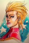 Her Name is Captain Marvel by bernce