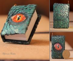 Dragon Skin Book by African-Amber