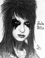 Jake Pitts Portrait by KatarinaAutumn