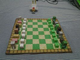 Minecraft Chess Board - Overview by kaikidan