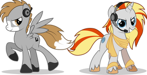 COMMISSION --- Kaiser Trot + Digi Wire by Emkay-MLP