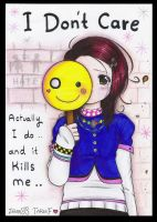 I Don't Care .: 3 :. by zenab-tareef