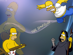 Dekstop Simpsons Homer - TheGraphicsArts || Nola by TheGraphicsArts
