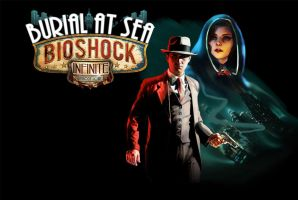 Bioshock Infinite: Burial at Sea Episode Noire by tromaxer