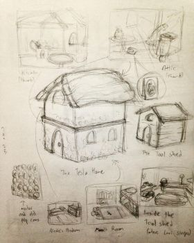 2017-01Jan-25 Tesla Home Sketches by mosobot64