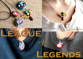 League of Legends Charms by GandaKris
