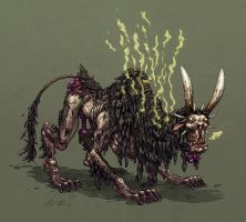 Stinky beast by korintic