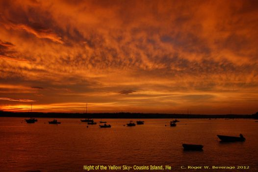 Night of the Yellow Sky by slingerman43
