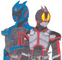 Toei Heroes by colley