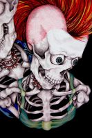 Punk's Not Dead Detail II by styrofoam-SKELLETON