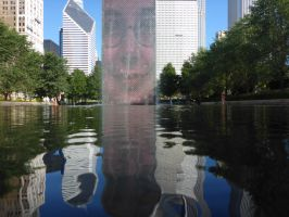 Chicago Reflections by NaturalBeauty-Photos
