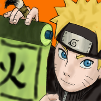naruto oekaki -Fire- by sharingandevil