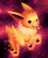 . : Jolteon : . by GenyStar