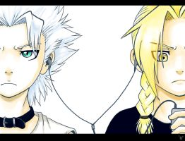 Hitsugaya and Edward - music by nocturnalMoTH