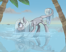 Water creature by MyMineAwesome