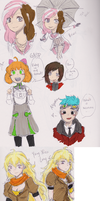 RWBY Dump by sunburnedice