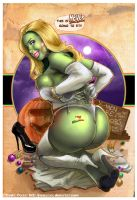 SHE-HULK'S HALLOWEEN by J-Estacado