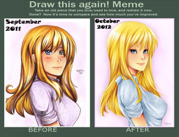 Draw this again meme 2 by Nataliadsw