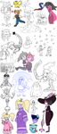 Feburary 2017 Doodlesplosion by GoopyCat