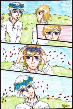 Flower crowns NorIce by AnnHolland