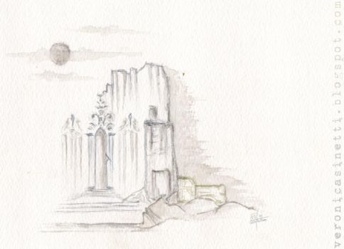 Ruins_watercolour_CARD by vs-catonthemoon