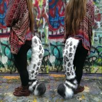 Snowleopard/Tiger Tail by SuicidalMuffins