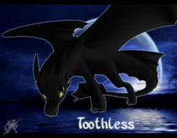 HtTYD - Toothless by EndanaMidnight
