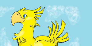 Chocobo by littlehappypanda