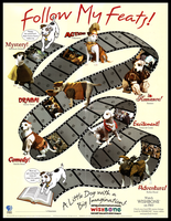 Wishbone Poster Set - Follow My Feats! by The-Toy-Chest